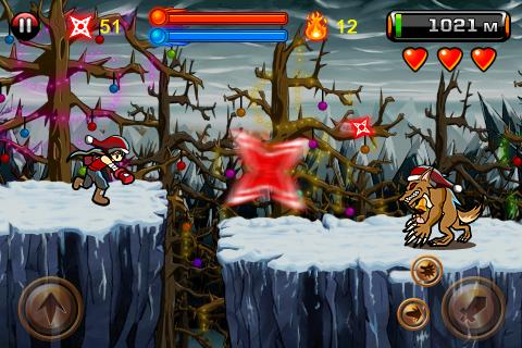 Devil Ninja (Xmas)- screenshot