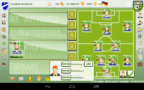 Kick it out! Football Manager - screenshot thumbnail