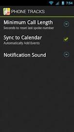Phone Tracks Screenshot 4