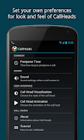 Screenshot of CallHeads - phone call app