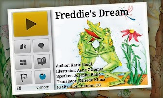Screenshot of Freddie's Dream   KidsBookDemo