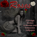 Rose Stickers Widget Pack logo