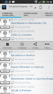 Live Football On TV- screenshot thumbnail