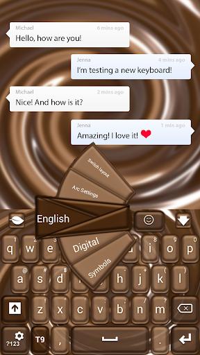 チョコレートキーボード
