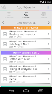 Countdown Plus Widgets Lite- screenshot thumbnail