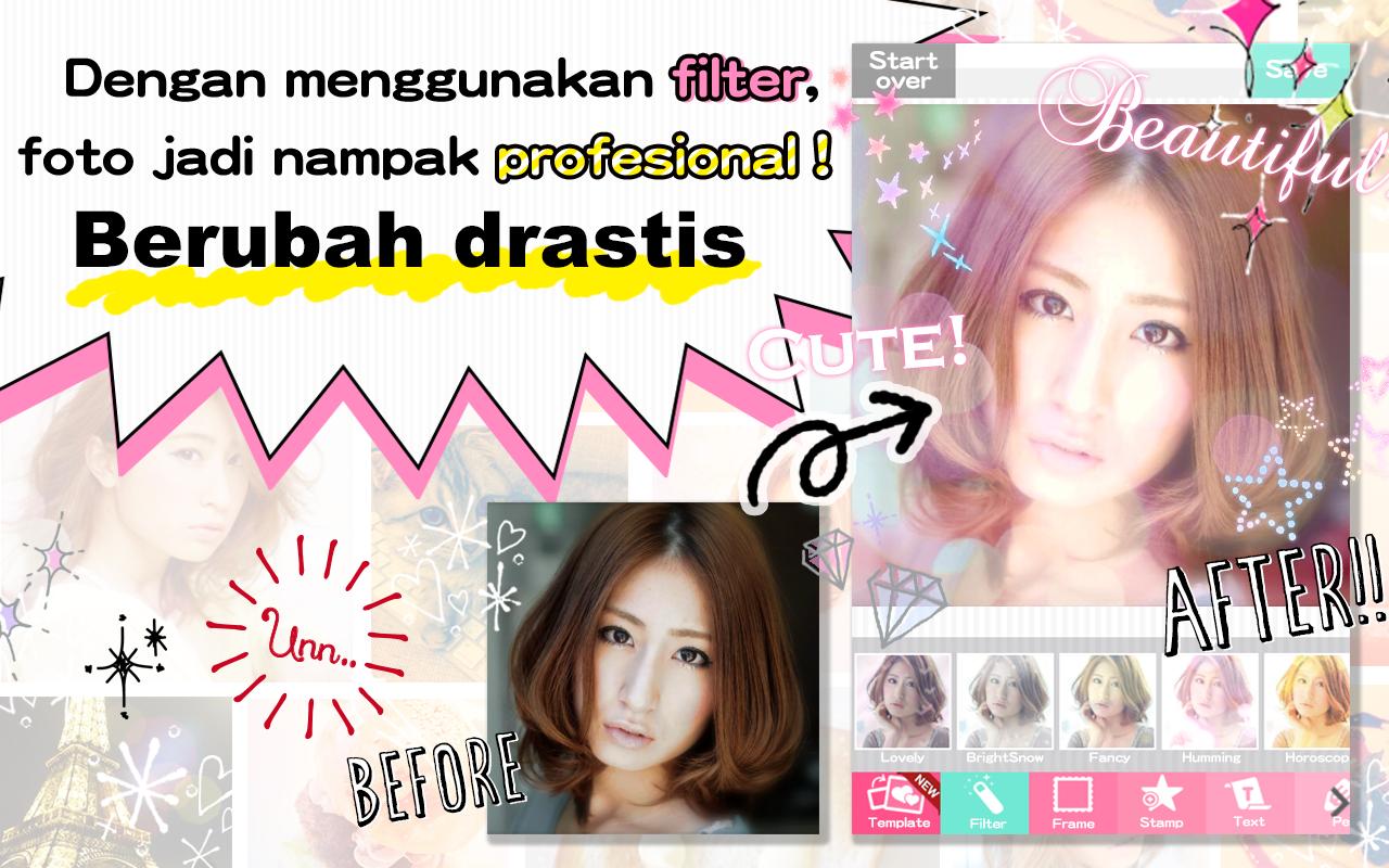 DECOPIC Kawaii Edit Foto Imut Apl Android Di Google Play