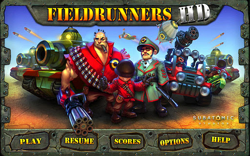 Download Fieldrunners HD For PC 1