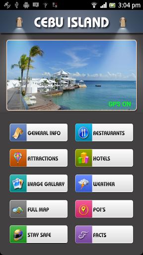 Cebu Island Offline Map Guide