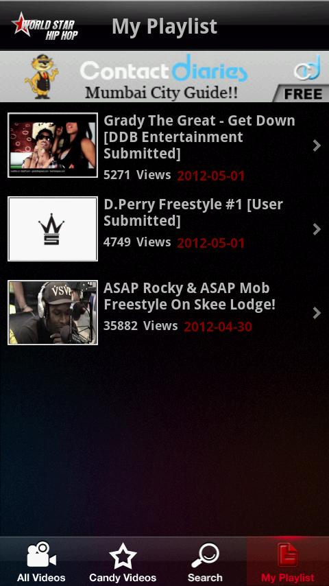 Worldstarhiphop - screenshot