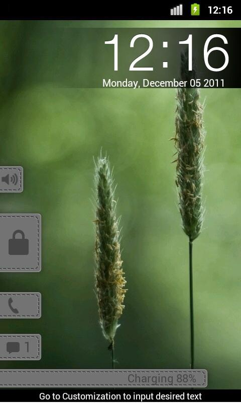 Pull Smoke - MagicLockerTheme- screenshot