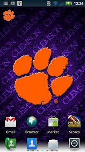 Clemson Revolving Wallpaper - screenshot thumbnail