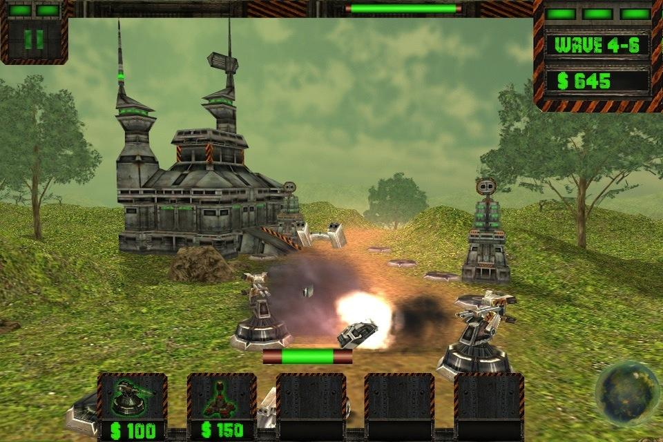 Tower Attack Cyber War - HD - screenshot
