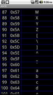ASCII Chars - screenshot thumbnail
