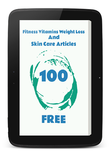 Fitness Vitamins Weight Loss