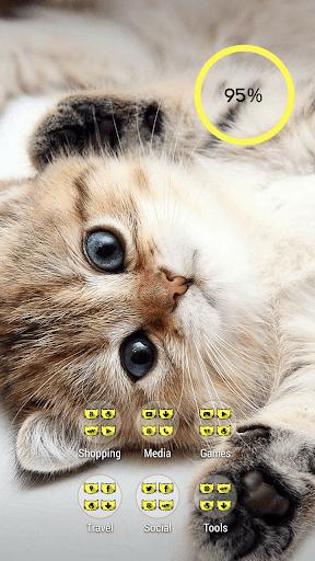 【免費個人化App】頑皮的小貓貓喵主題-APP點子