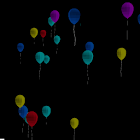 Colorful Balloons 3D Live Wall icon