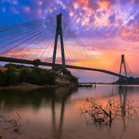 Barelang bridge by Andi Setiawan - Landscapes Sunsets & Sunrises