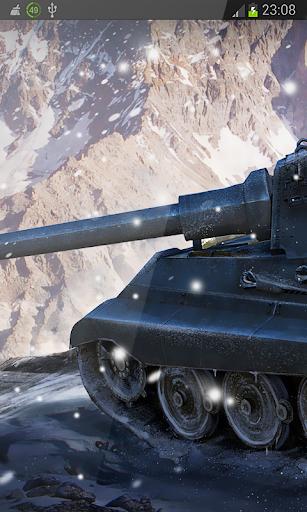 Crazy War Tank HD LWP