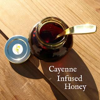 Cayenne Infused Honey.