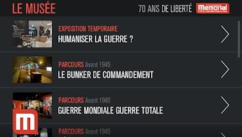 Screenshot of Le Mémorial de Caen