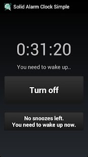 Solid Alarm Clock Simple - screenshot thumbnail