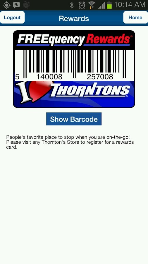 Thorntons Deals App - screenshot