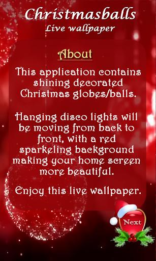 【免費生活App】Christmas balls LWP-APP點子
