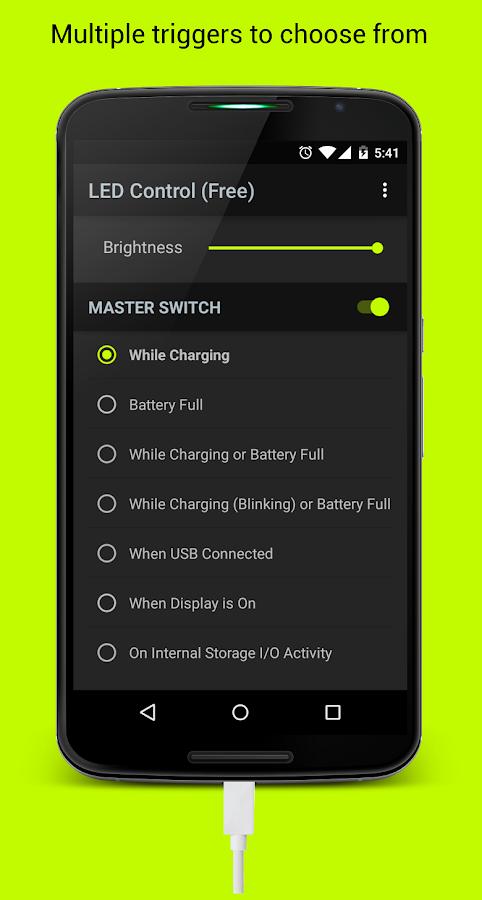 led control root screenshot