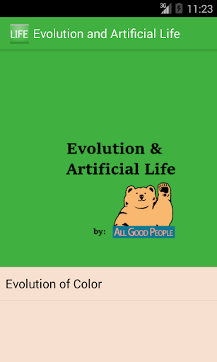 Evolution++ Artificial Life