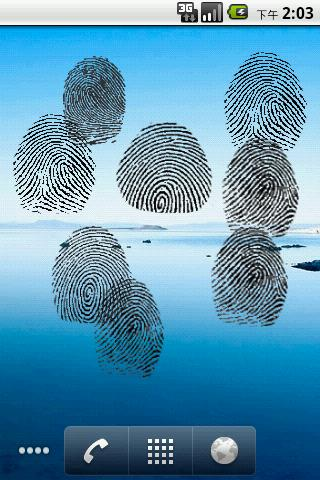 Fingerprint On Screen - screenshot
