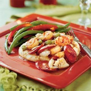Cajun Shrimp-and-Crab Sauce