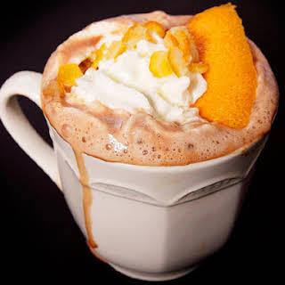 Orange Pisco Hot Chocolate.
