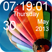 Galaxy S4 Clock Live Wallpaper