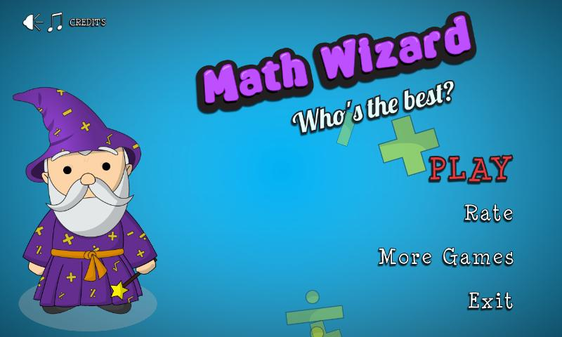 Math Wizard: Who's the best?- screenshot