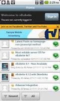 Screenshot of Sharks Forever Forum