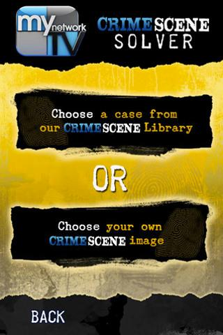 MyNetworkTV Crime Scene Solver- screenshot