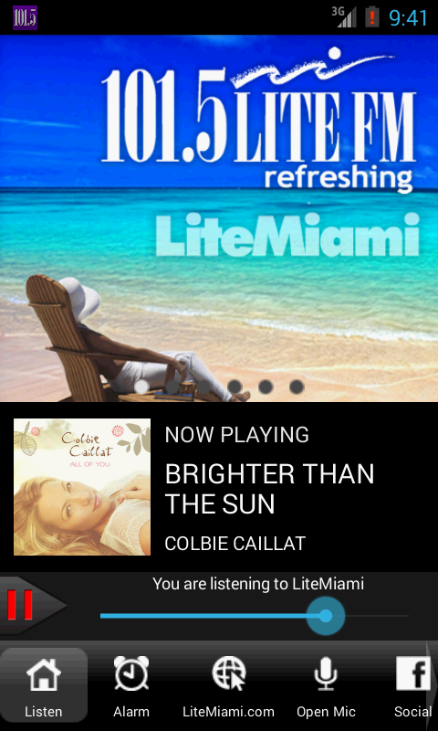 LiteMiami–101.5 LITE FM Radio - screenshot