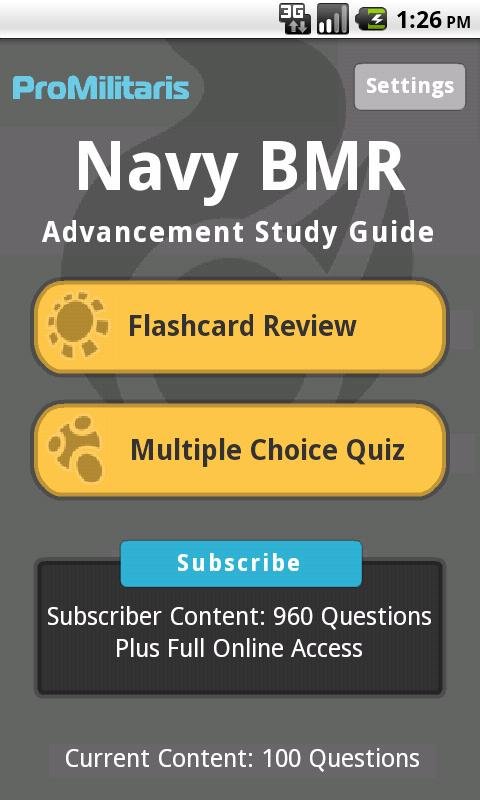 Navy BMR ProMilitaris - screenshot