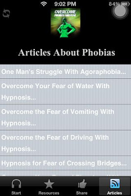 Cure Phobias And Overcome Fear - screenshot