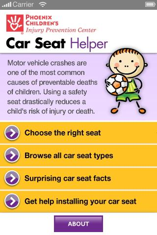 Car Seat Helper - screenshot