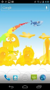 Whale Trail Live Wallpaper - screenshot thumbnail
