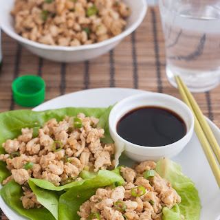 Asian Chicken Lettuce Wraps
