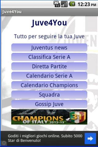 Bianconeri - screenshot