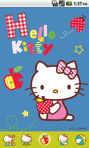 Hello Kitty Gleeful Theme