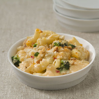 Spicy Jack Mac & Cheese with Broccoli.