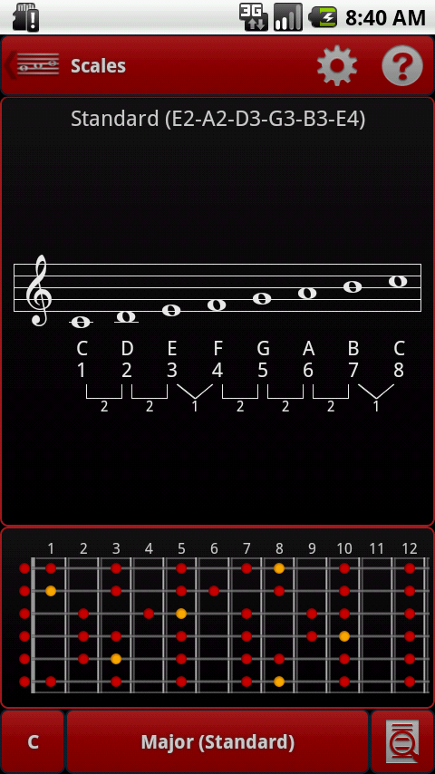 Guitar guitar chords tuner : smart Chords Arpeggio (Guitar. - Android Apps on Google Play