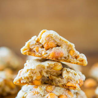 Soft and Chewy Honey Roasted Peanuts and Butterscotch Chip Cookies