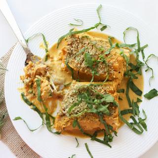 Creamy Butternut Squash Lasagna Roll-Ups with Pumpkin Seed Parmesan