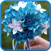 Easy Origami Flower Bouquet