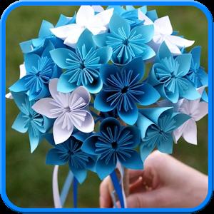 Amazon.com: Pink Blush Origami Flower Bouquet: Handmade | 300x300